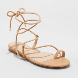 Women's Josie Lace Up Sandals - A New Day™   Target