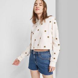 Women's High-Rise Mom Jean Shorts - Wild Fable™ (Regular & Plus) Medium Wash | Target