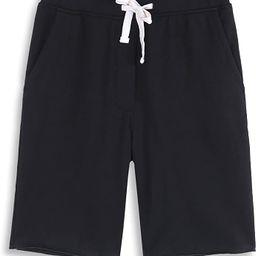 Men's Casual Soft Cotton Elastic Fleece Jogger Gym Active Pocket Shorts   Amazon (US)