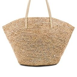 florabella Sapelo Tote in Almond Silver from Revolve.com   Revolve Clothing (Global)