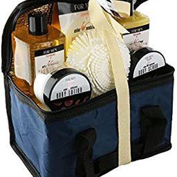 Spa Life All Natural Bath and Body Luxury Spa Gift Set Basket (Mens Sandalwood)   Amazon (US)