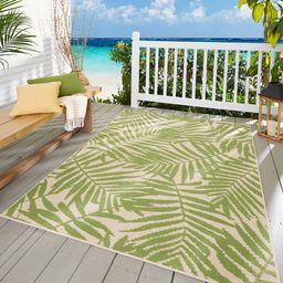 Mainstays Palm Indoor/Outdoor Area Rug | Walmart (US)