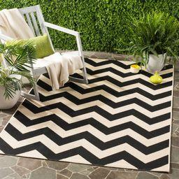 Safavieh Courtyard Bailey Chevron Indoor/Outdoor Area Rug or Runner | Walmart (US)
