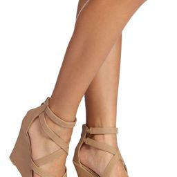 New Heights Strappy Wedge Heels | Windsor Stores
