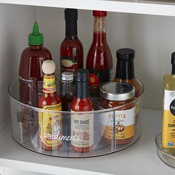 The Home Edit Divided Lazy Susan | The Container Store