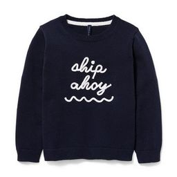 Ship Ahoy Pullover   Janie and Jack