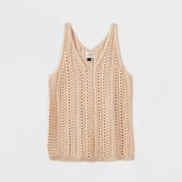Women's V-Neck Sweater Tank Top - Universal Thread™ | Target
