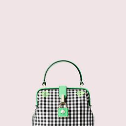 remedy gingham small top-handle bag | Kate Spade (US)