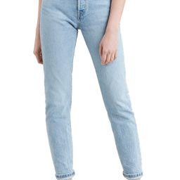 Women's Levi's 501 Skinny Jeans, Size 33 x 28 - Blue   Nordstrom