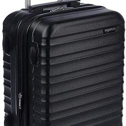 AmazonBasics Hardside Spinner, Carry-On, Expandable Suitcase Luggage with Wheels, 21 Inch, Black | Amazon (US)