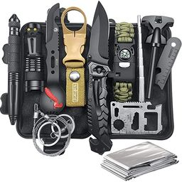 Gifts for Men Dad Husband Fathers Day, Survival Kit 12 in 1, Fishing Hunting Birthday Gifts Ideas...   Amazon (US)