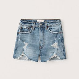 High Rise Mom Shorts   Abercrombie & Fitch (US)