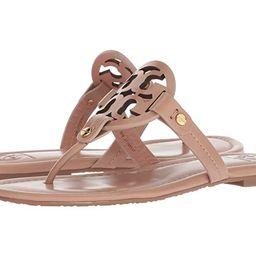 Tory Burch Miller Flip Flop Sandal (Light Makeup) Women's Shoes | Zappos