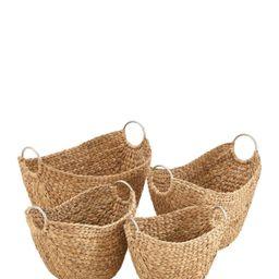 UMA   Wicker Metal Basket - Set of 4   Nordstrom Rack   Nordstrom Rack