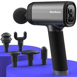 MaxKare Massage Gun with Backpack and Carrying case, Deep Tissue Percussion Muscle Massager for A...   Amazon (US)