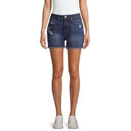 EV1 from Ellen DeGeneres Charlotte Cut Off Destructed Jean Shorts Women's | Walmart (US)