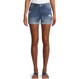 Women's Mid Rise Denim Shorts | Walmart (US)