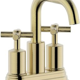 Duttao DF-4303CCH-BG 4 Inch 2 Handle Bahroom Sink Faucet with Push up PoP-up Drain, Meets UPC, IP...   Amazon (US)