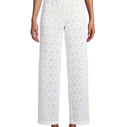 Social Angel Gigi High Waist Side Slit Pant Cover Up | Walmart (US)