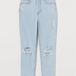 Slim Mom High Ankle Jeans | H&M (US)