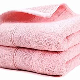 YAMAMA Hand Towels,100% Cotton Highly Absorbent Soft Hand Towel for Bathroom 14 x 30 Inch Set of ... | Amazon (US)