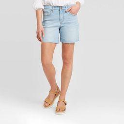 Women's High-Rise Boyfriend Jean Shorts - Universal Thread™ | Target