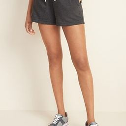 French Terry Drawstring Shorts for Women -- 3-inch inseam | Old Navy (US)
