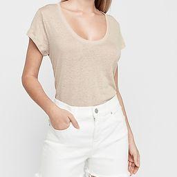 High Waisted White Raw Cut Jean Shorts   Express