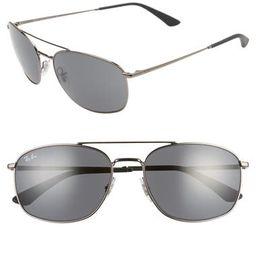 60mm Navigator Sunglasses | Nordstrom