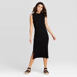 Women's Sleeveless Knit Dress - Universal Thread Black XS | Target