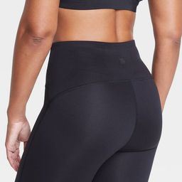 """Women's Contour Curvy High-Rise Shorts 7"""" - All in Motion™ Black 