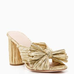 Gold Penny Knot Mules   Tuckernuck (US)