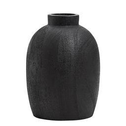 Black Mango Wood Vases | Pottery Barn (US)
