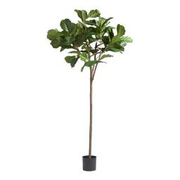 6 Foot Faux Fiddle Leaf Fig Tree | World Market