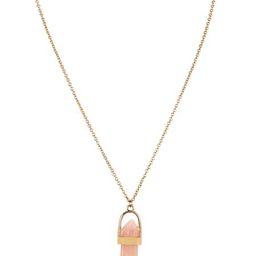 Gem Stone Drop Short Pendant Necklace   Charming Charlie