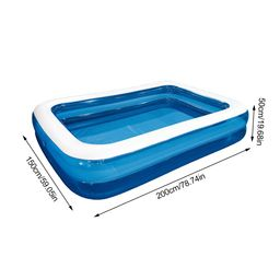 Akoyovwerve Children'S Inflatable Swimming Pool Household Baby Wear-Resistant Thick Marine Ball P... | Walmart (US)