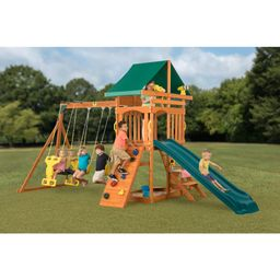 Creative Cedar Designs Sky View Wooden Playset | Walmart (US)