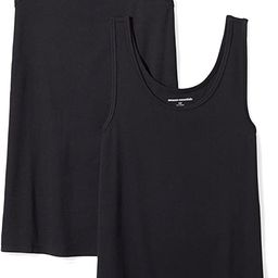 Women's 2-Pack Slim-Fit Tank | Amazon (US)
