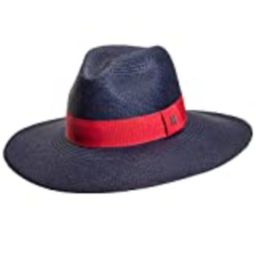 RACEU ATELIER Eva Wide Brim Panamá Navy Blue - Wide Brim Panamá - Panama Hats - Handmade - Montecris   Amazon (US)