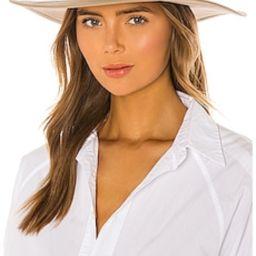 Brixton Joanna Cotton II Hat in Light Tan from Revolve.com | Revolve Clothing (Global)