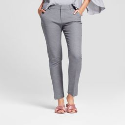 Women's Straight Leg Slim Ankle Pants - A New Day™ | Target