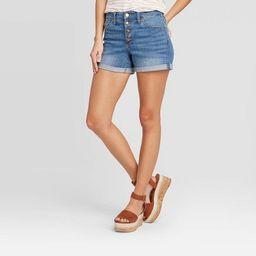 Women's High-Rise Short Jean Shorts - Universal Thread™ Medium Wash   Target