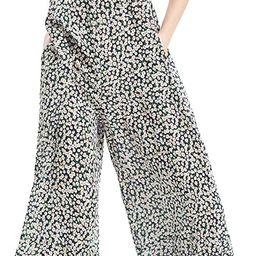 Women's V Neck Floral Maxi Dress Boho Printed Adjustable Spaghetti Strap Ethnic Beach Long Dress ... | Amazon (US)