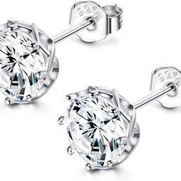 Sets with Swarovski Zirconia CZ Stud Earrings for Women 925 Sterling Silver Lotus Flower Shape Pr...   Amazon (US)