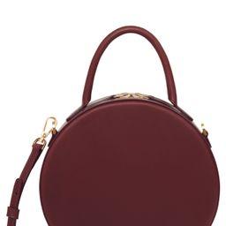 Mansur Gavriel Leather Circle Crossbody Bag - Burgundy | Nordstrom