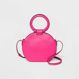 Circle Crossbody Bag - A New Day Magenta Pink, Pink/pink | Target