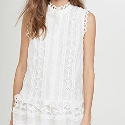 Lace Combo Dress | Shopbop