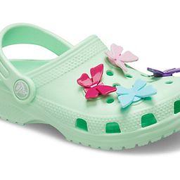 Kids' Classic Butterfly Charm Clog   Crocs (US)