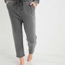 Aerie Sandy Fleece Cropped Sweatpant   American Eagle Outfitters (US & CA)