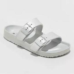 Women's Neida EVA Two Band Slide Sandals - Shade & Shore™   Target
